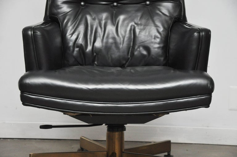 American Dunbar Executive Desk Chair by Edward Wormley For Sale