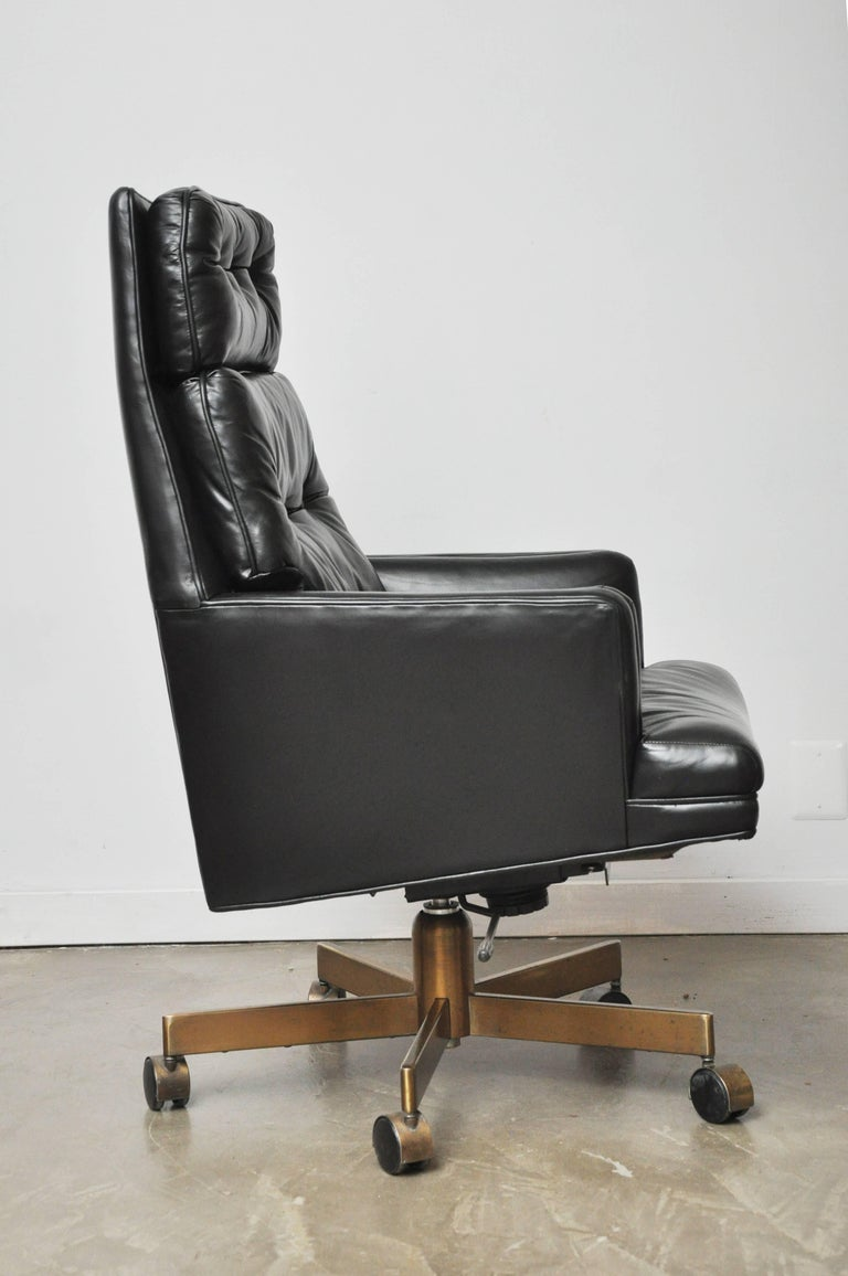 20th Century Dunbar Executive Desk Chair by Edward Wormley For Sale