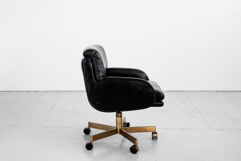 Mid-Century Modern Dunbar Executive Office Chair For Sale