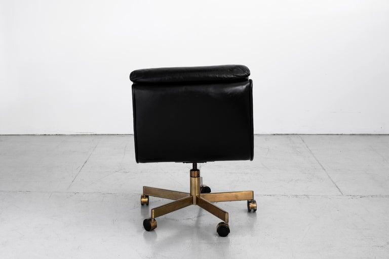 American Dunbar Executive Office Chair For Sale
