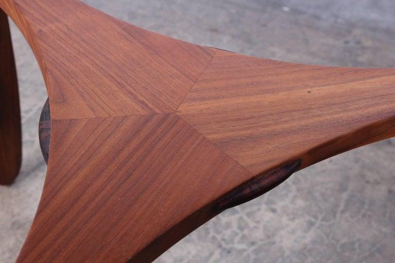 Dunbar Janus Table by Edward Wormley with Natzler Tiles For Sale 7