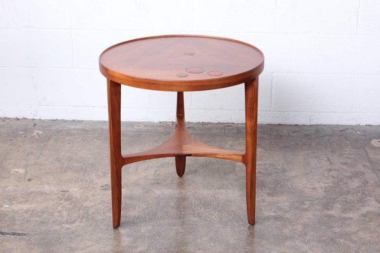 Dunbar Janus Table by Edward Wormley with Natzler Tiles For Sale 8