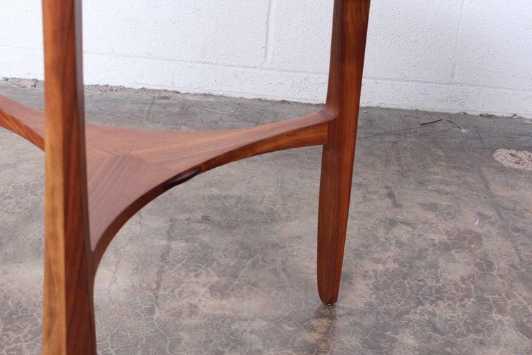 Dunbar Janus Table by Edward Wormley with Natzler Tiles For Sale 11