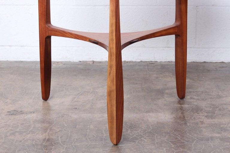 Mid-20th Century Dunbar Janus Table by Edward Wormley with Natzler Tiles For Sale