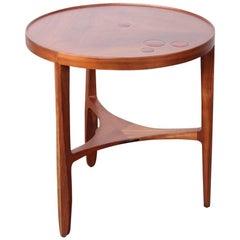 Dunbar Janus Table by Edward Wormley with Natzler Tiles