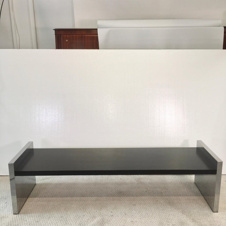 Mid-Century Modern Dunbar Long Bench by Roger L. Sprunger For Sale