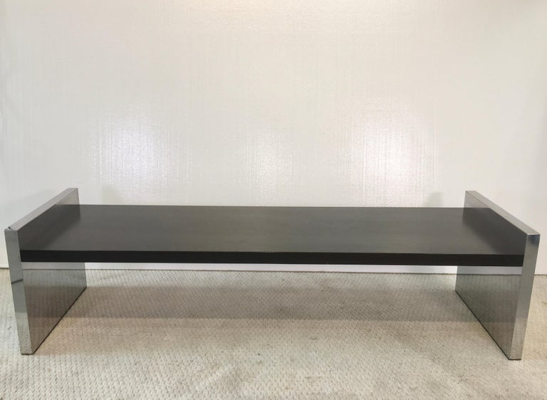 American Dunbar Long Bench by Roger L. Sprunger For Sale