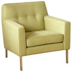 Dunbar Lounge Chair with Custom Legs Designed by Jane Graham