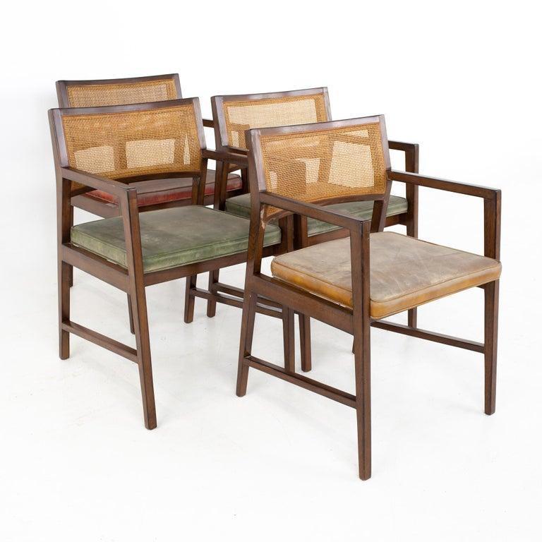 American Dunbar Mid Century Dining Chairs, Set of 8