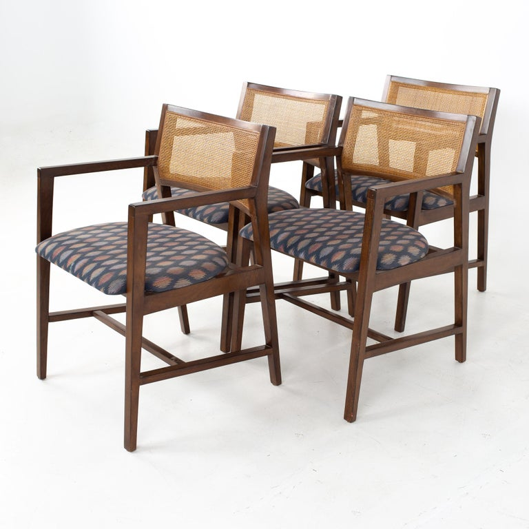 Dunbar Mid Century Dining Chairs, Set of 8 1