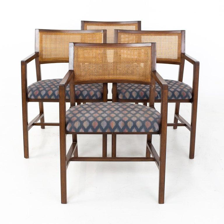 Dunbar Mid Century Dining Chairs, Set of 8 2