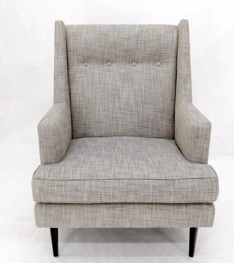 Dunbar Mid-Century Modern Lounge Chair Restored For Sale 4