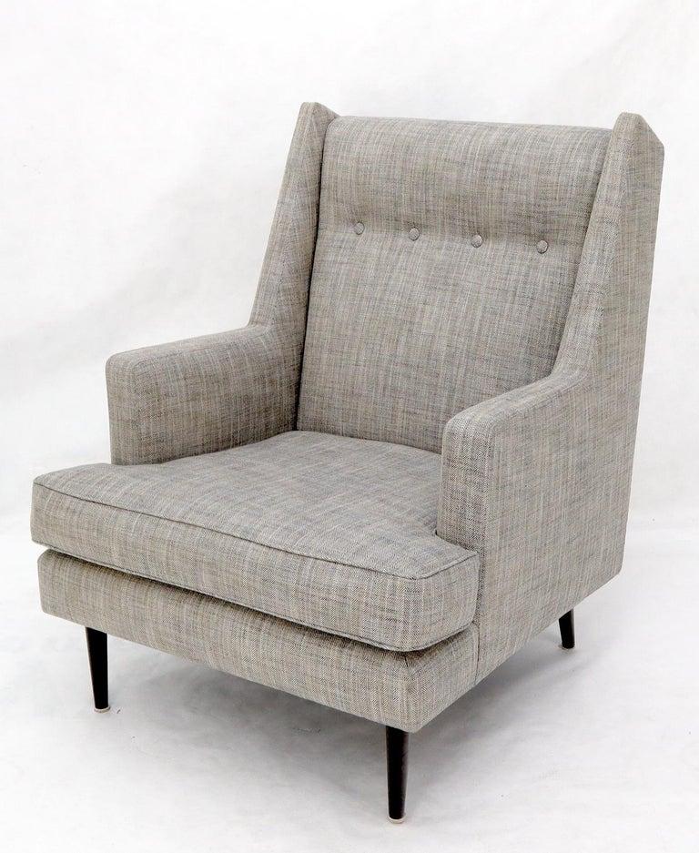 Dunbar Mid-Century Modern Lounge Chair Restored For Sale 5
