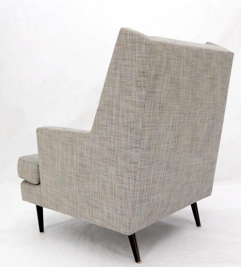 Dunbar Mid-Century Modern Lounge Chair Restored For Sale 7
