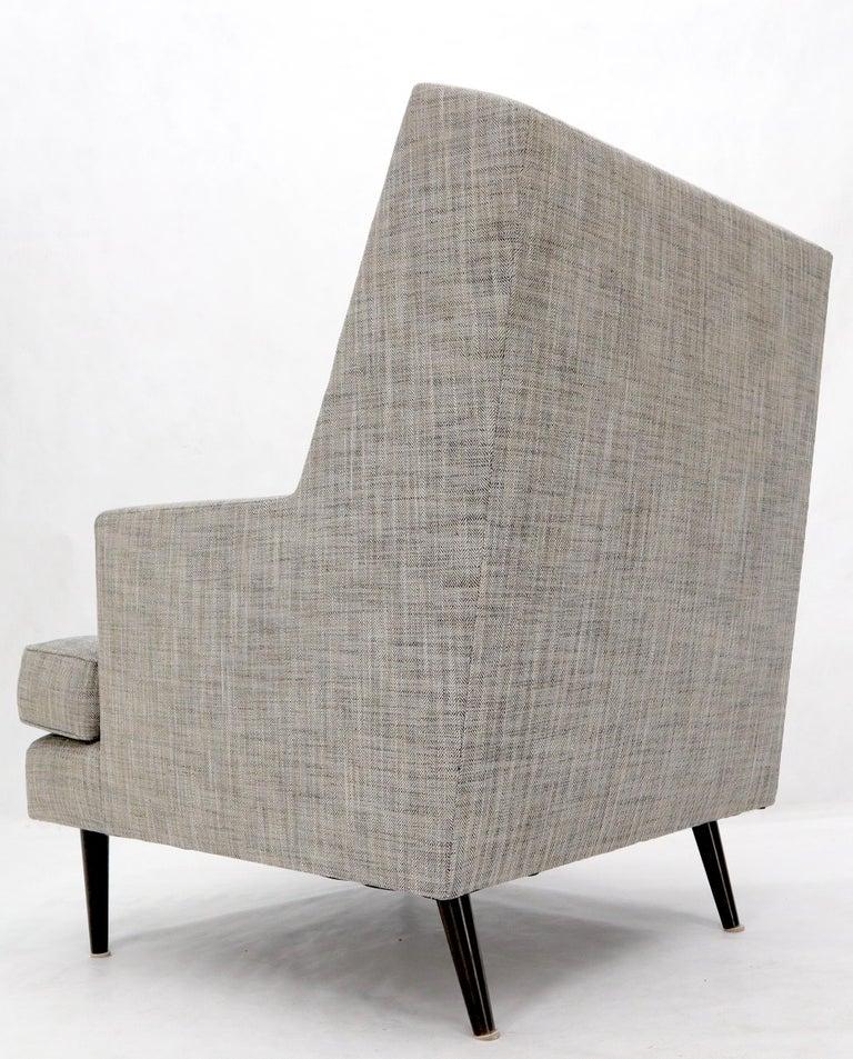 Dunbar Mid-Century Modern Lounge Chair Restored For Sale 8