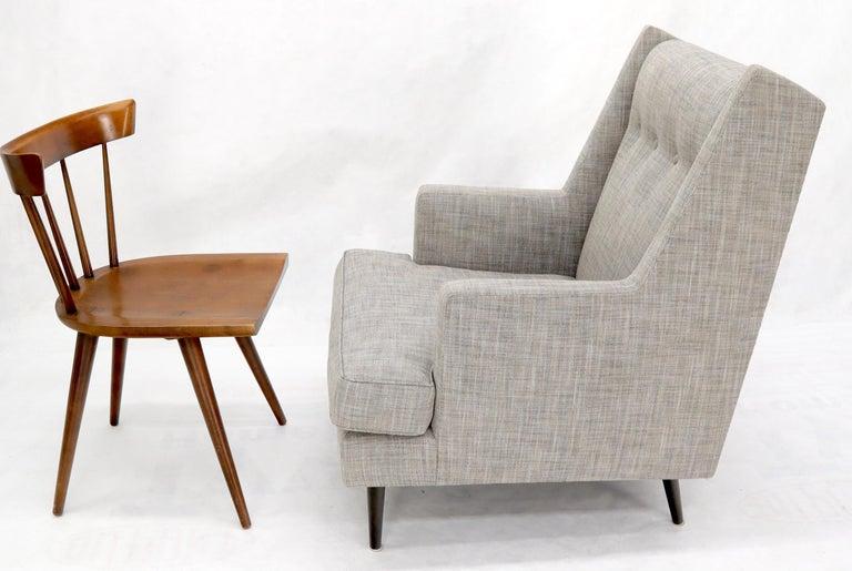 20th Century Dunbar Mid-Century Modern Lounge Chair Restored For Sale