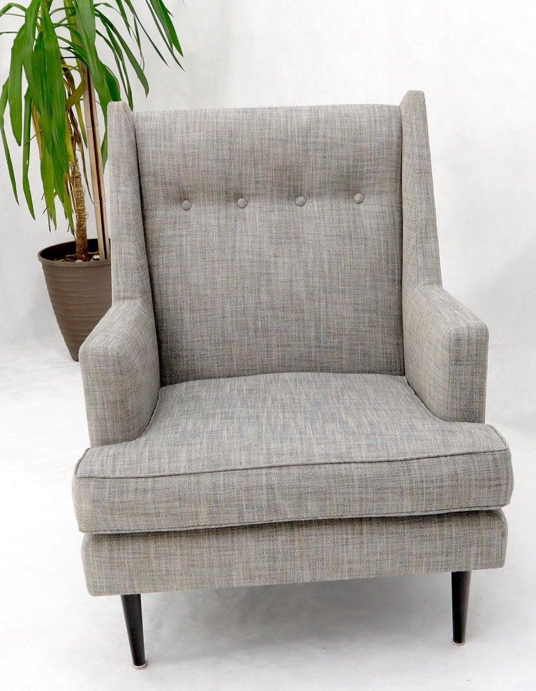 Dunbar Mid-Century Modern Lounge Chair Restored For Sale 2