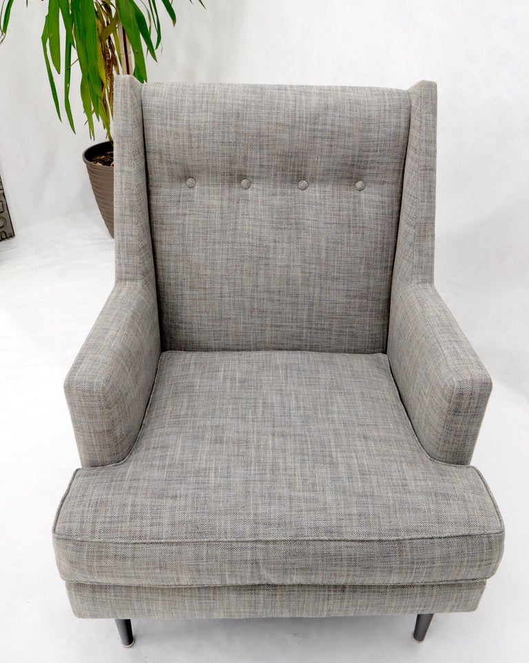 Dunbar Mid-Century Modern Lounge Chair Restored For Sale 3
