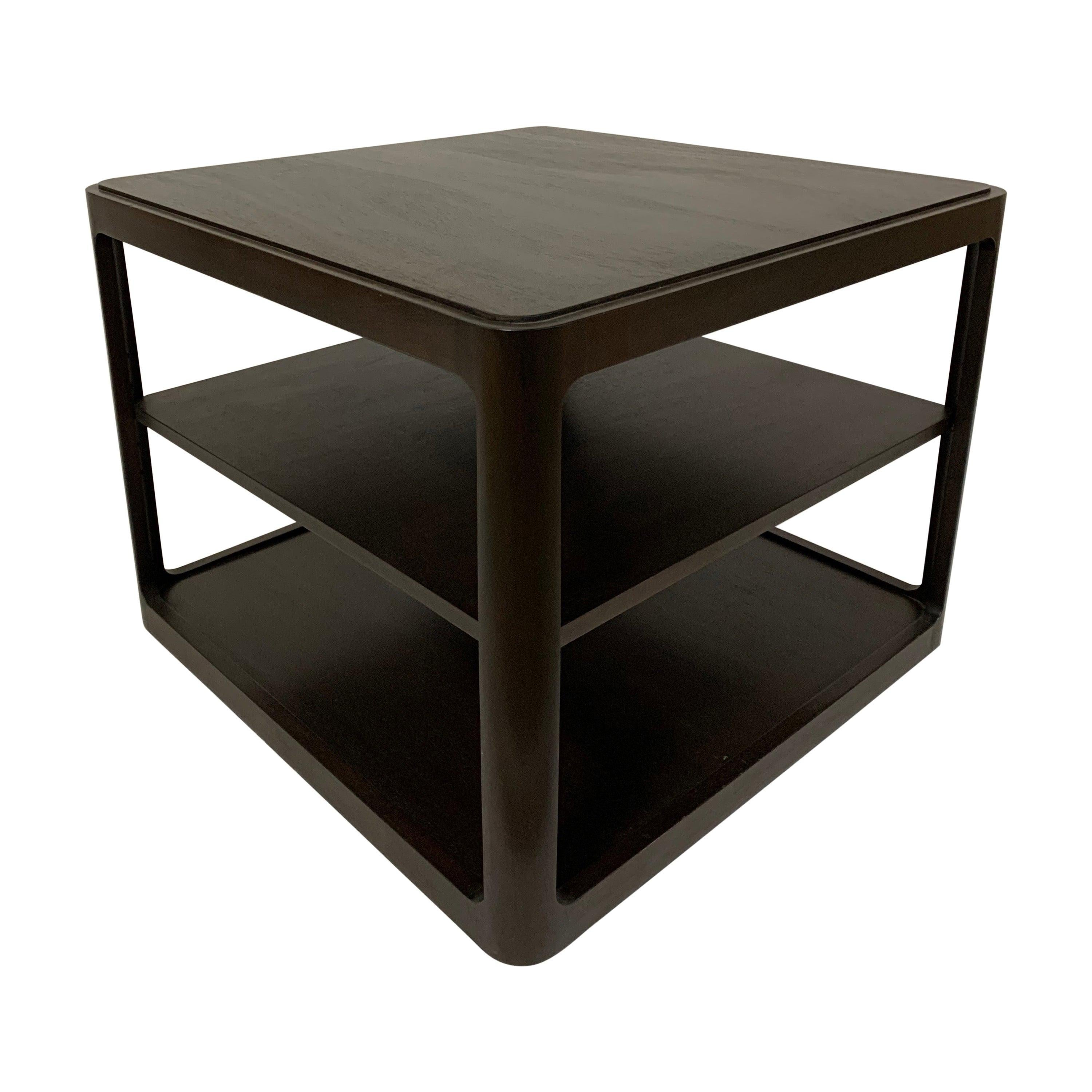 Dunbar Midcentury Square End Table