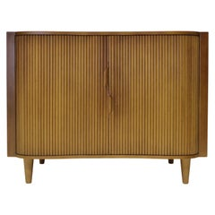 Dunbar Mister Chest with Tambour Doors by Edward Wormley