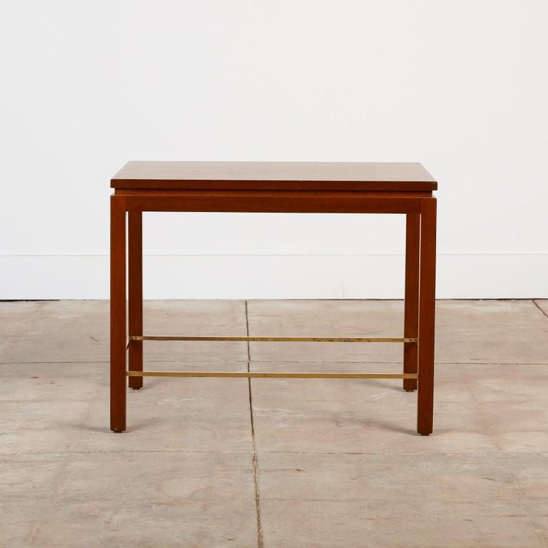 Mid-Century Modern Dunbar Model 310 Side Table by Edward Wormley For Sale