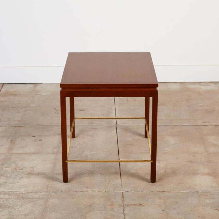 Stained Dunbar Model 310 Side Table by Edward Wormley For Sale
