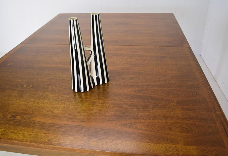 Mid-Century Modern Dunbar Model 456 Walnut Dining Room Extension Table by Edward Wormley For Sale
