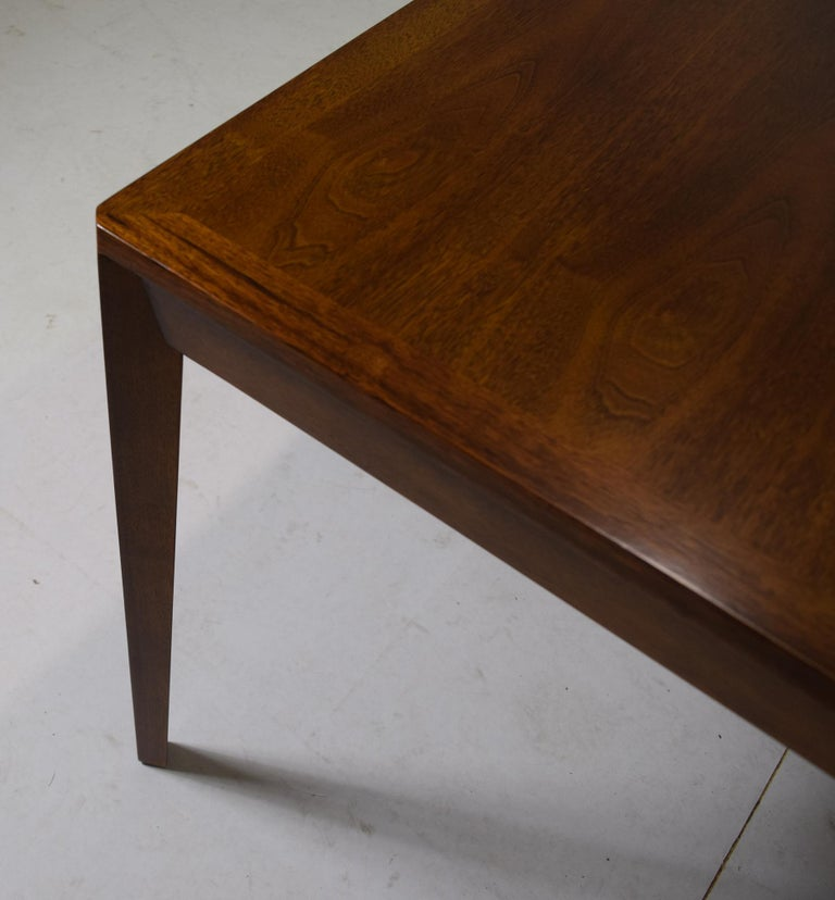 Dunbar Model 456 Walnut Dining Room Extension Table by Edward Wormley For Sale 2
