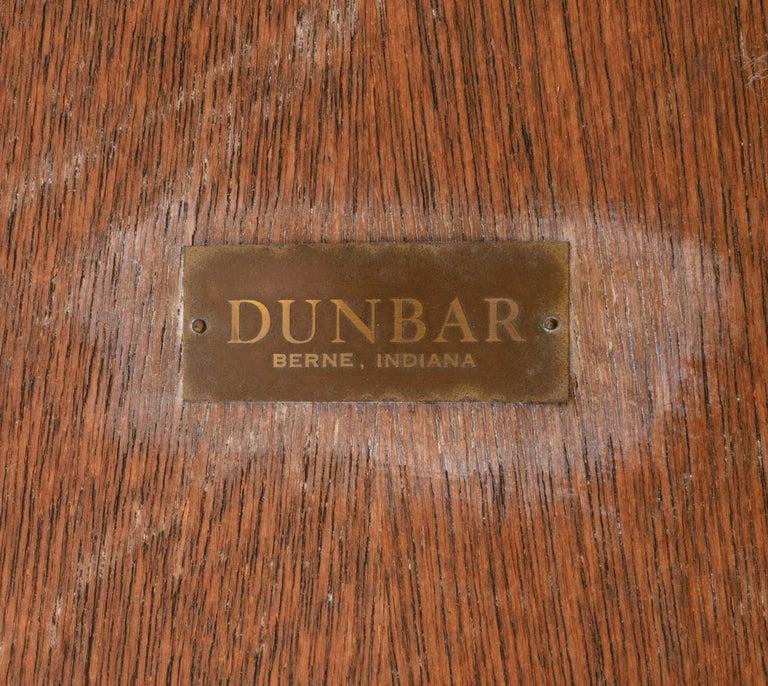 Dunbar Murano Glass Tile Top Coffee Table by Edward Wormley, USA, 1950s For Sale 1