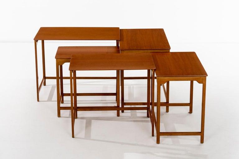 American Dunbar Nesting Tables For Sale