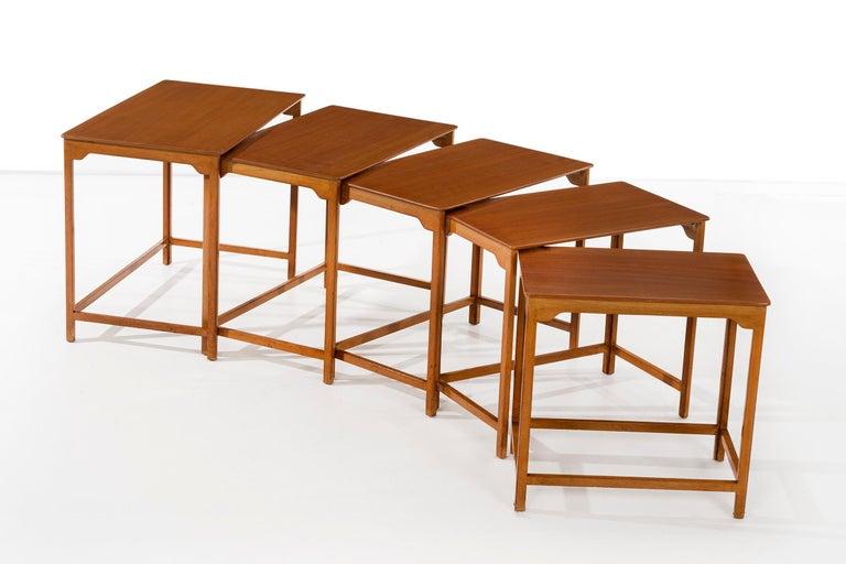 Mid-20th Century Dunbar Nesting Tables For Sale