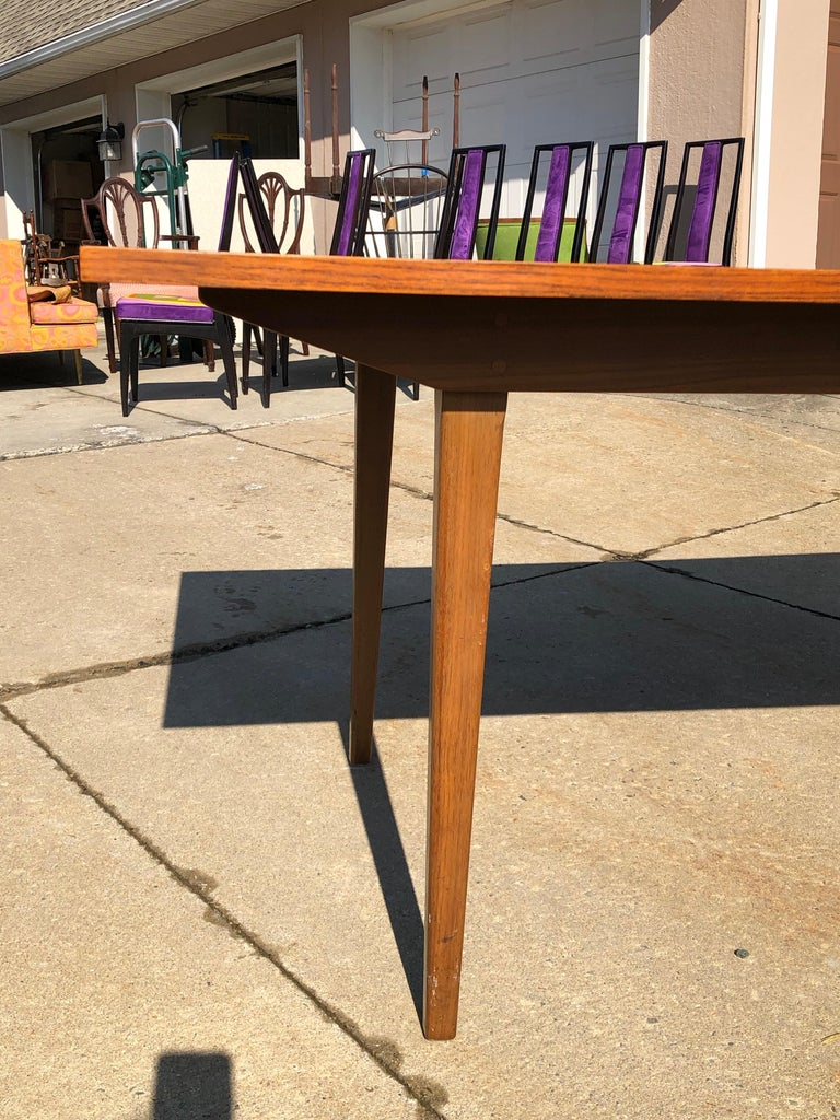 Dunbar Rosewood Dining Table Conference Table Expandable