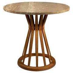 Dunbar Sheaf of Wheat Pedestal Table
