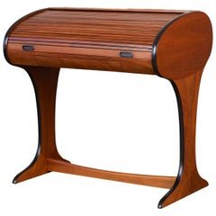 Dunbar Style Roll Top Writing Desk
