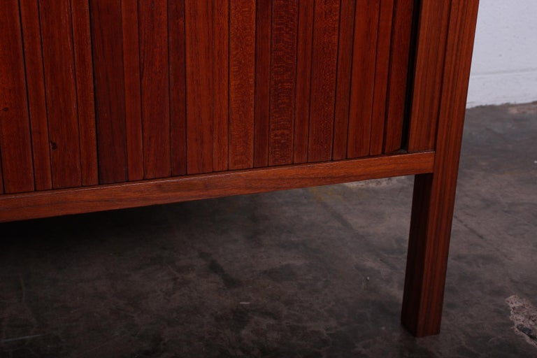 Dunbar Tambour Cabinet by Edward Wormley For Sale 5