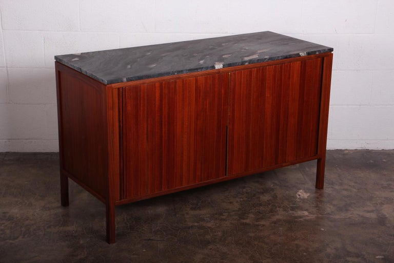 Dunbar Tambour Cabinet by Edward Wormley For Sale 6