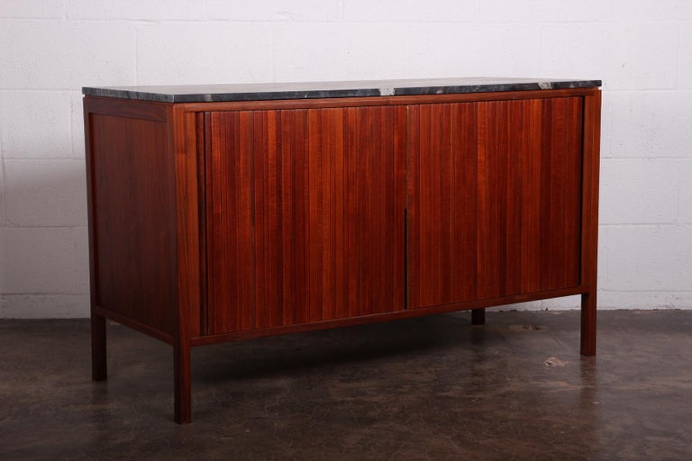 Dunbar Tambour Cabinet by Edward Wormley For Sale 7