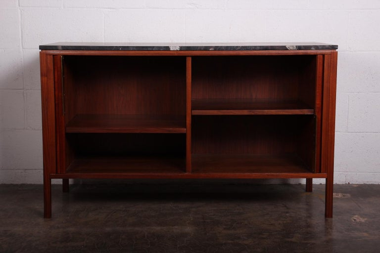 Dunbar Tambour Cabinet by Edward Wormley For Sale 3