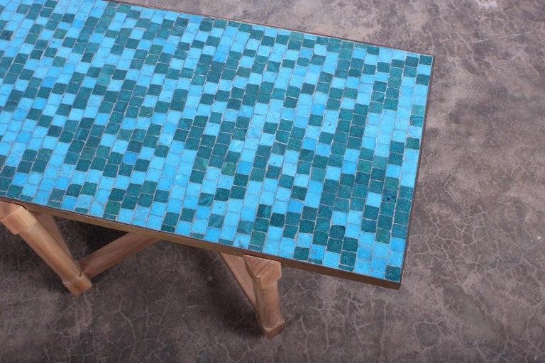 Dunbar Tile Top Table by Edward Wormley For Sale 2