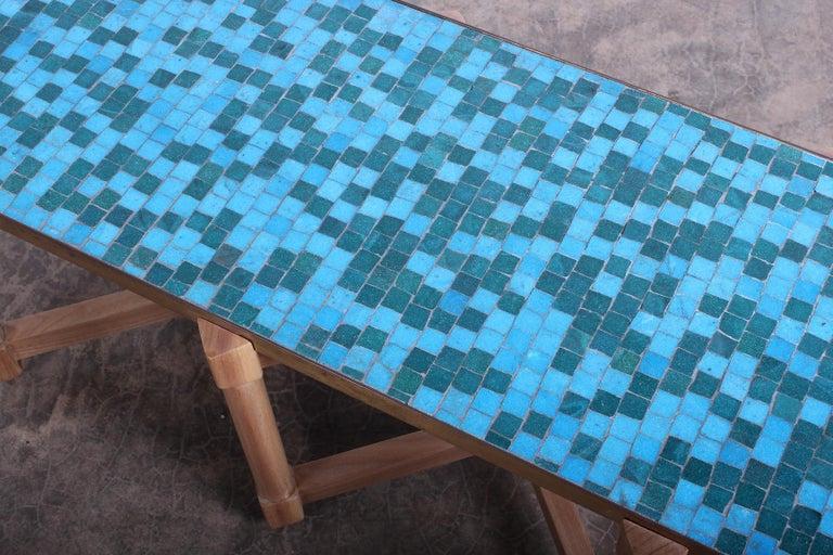 Dunbar Tile Top Table by Edward Wormley For Sale 3
