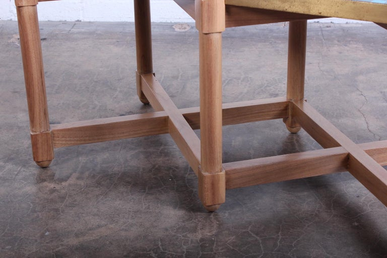Dunbar Tile Top Table by Edward Wormley For Sale 4