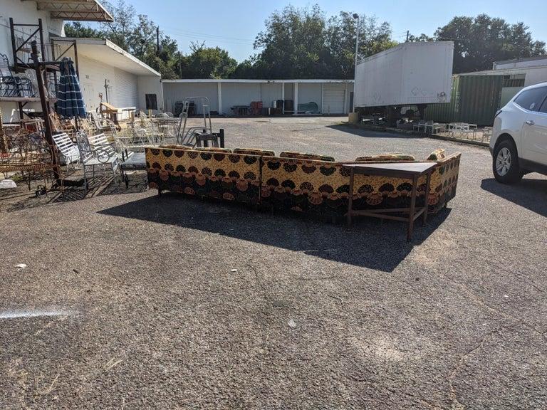Dunbar Wormley 2 Piece Sectional Sofa In Good Condition For Sale In Pasadena, TX