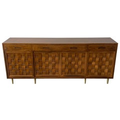 Dunbar Woven Front Sideboard Cabinet by Edward Wormley