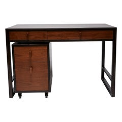 Dunbar Writing Desk and File Cabinet