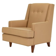 "Dunbar's High Back ""Mr."" Lounge Chair by Edward Wormley"
