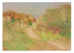 West Coast Impressionist Landscape, Oil Painting, Circa 1900-1930s