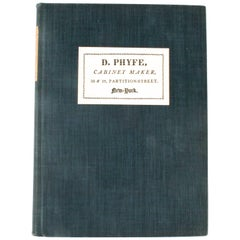 Duncan Phyfe & the English Regency 1795-1830, Limited (1/1350) First Edition