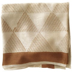 DUNE Cotton Hand-Block Printed  Scarf / Wrap