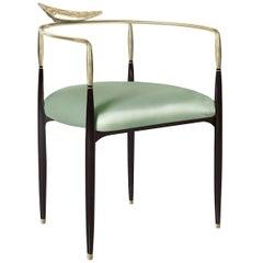 Dune Green Chair by Livio Ballabio