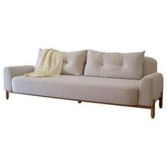 Dune Sofa in White Oak